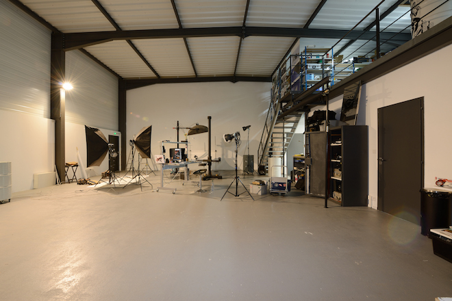 Le studio photo de Thierry